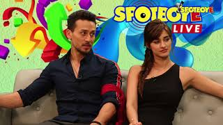 Tiger Shroff and Disha Patani Facebook Live | Baaghi 2 | Manish Batavia | SpotboyE