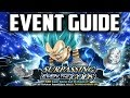 SSJB Vegeta Dokkan Event Guide
