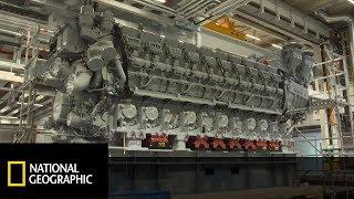 Zobacz największy silnik Diesla na świecie! [Maszyny wagi ciężkiej]