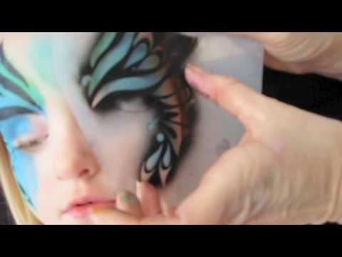 Face Painting made easy with Stencils - YouTube