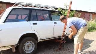 Автомобильный подъемник опрокидыватель из СССР.(видео от подписчика)(, 2016-08-06T13:14:22.000Z)