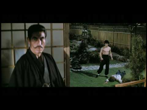 Bruce Lee's Fist of Fury Final Fight Scene (精武门)