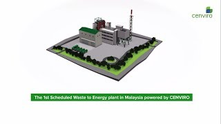 The 1st Scheduled Waste to Energy (SWtE) Plant in Malaysia Powered by Cenviro