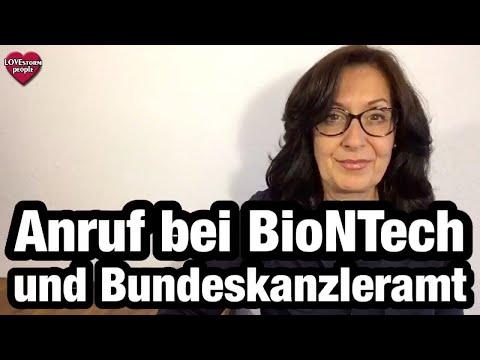 Anruf bei BioNtech und Kanzleramt