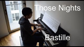 Bastille - Those Nights (Piano Cover & Sheet Music)