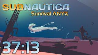 Subnautica Survival Any% 37:13 (World Record)