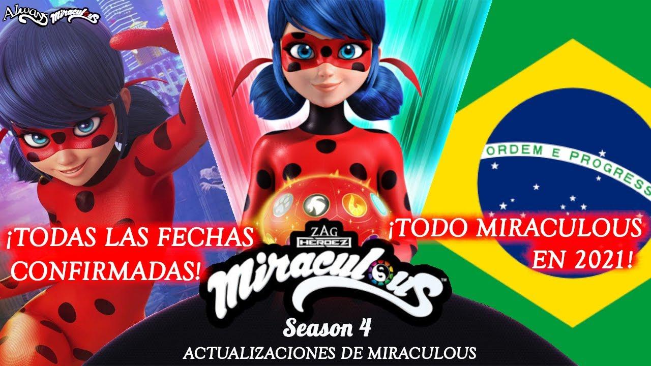 ¡TODAS LAS FECHAS CONFIRMADAS! ¡MIRACULOUS EN 2021! Nuevas Actualizaciones   Miraculous LadyBug   HD
