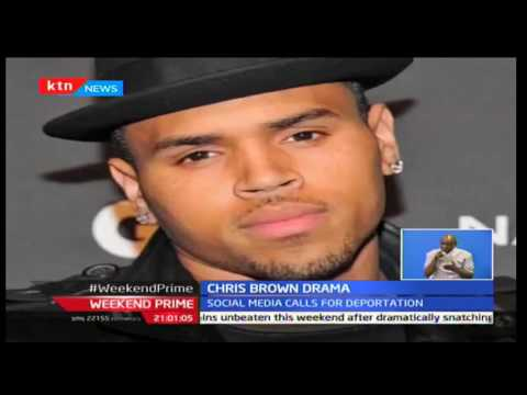 Weekend Prime: Woman claims Chris Brown smashed her phone as she tries to take a photo