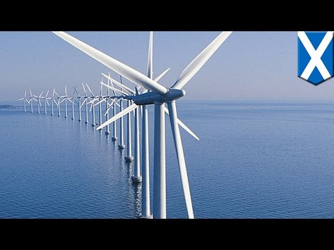 World's largest floating offshore wind farm to be built off the coast of Scotland - TomoNews
