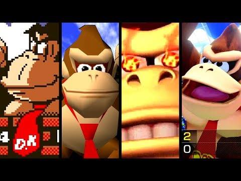 Download Youtube: Super Mario Evolution of DONKEY KONG'S VOICE 1981-2017 (Switch to Arcade)