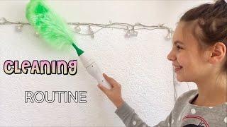 АЗ ЧИСТЯ С РОБОТ/Cleaning Routine/ Ерика Думбова/ Erika Doumbova