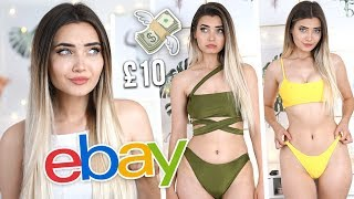 TRYING ON BIKINIS I BOUGHT ON EBAY UNDER £10!!! *FAIL*