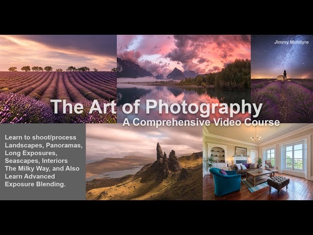 My New Photography Course is Finally Here! The Art of Photography
