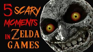 5 SCARY Moments in the Legend of Zelda Games!
