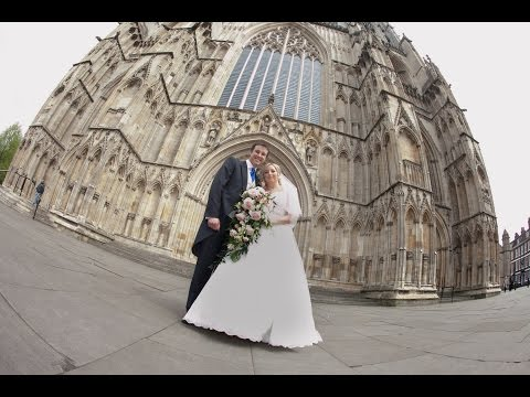 Amanda and Michael's wedding photography York Minster and Hazlewood Castle
