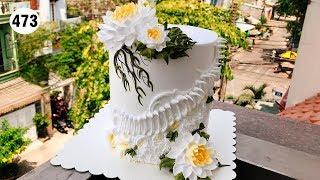 chocolate cake decorating vanilla nice (473) Làm bánh thật dễ dàng với nho đỏ (473)