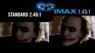 """""""the Dark Knight"""" Imax® 70mm Vs 35mm - Aspect Ratio Comparison - Prolo"""