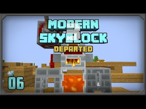 Modern Skyblock 3 Departed EP 6 Tinkers Complement Melter +