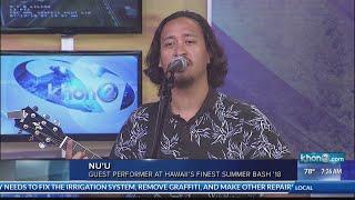 Nu'u guest performer at Hawaii's Finest Summer Bash '18