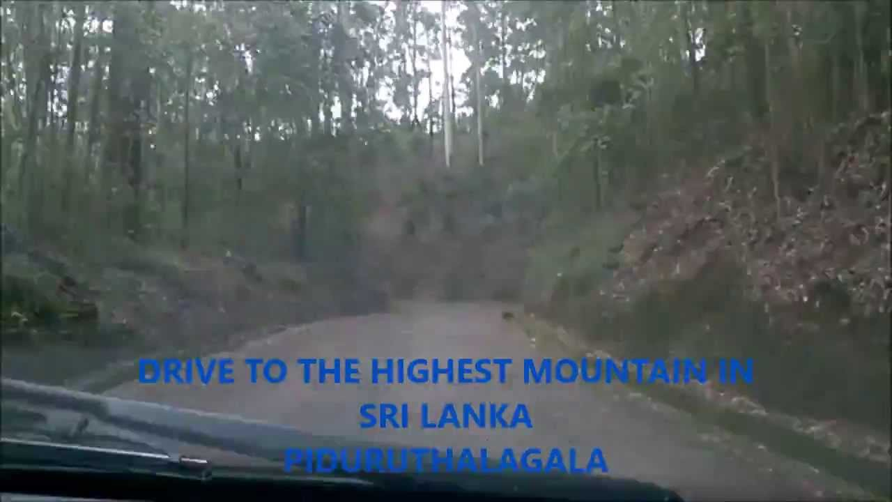 Drive to the highest mountain in Sri Lanka