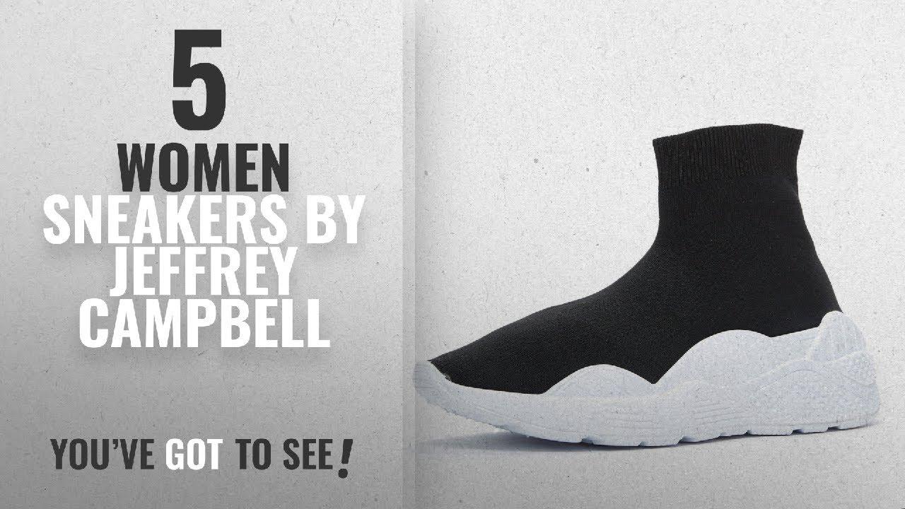 00d81cd894ffd Featured Jeffrey Campbell Women Sneakers [2018]: Jeffrey Campbell Lunix  Black Sock Sneaker 8