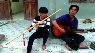 tây vương nữ quốc - sáo trúc 1m50 +guitar