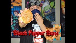 Easy Black Pepper Buns Recepi From FOOD WARS. (Shokugeki) with kakashi