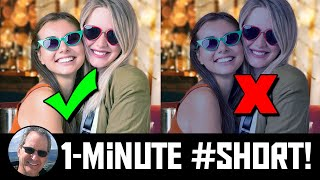1-Minute #Short: Color-Correcting Photo Composites