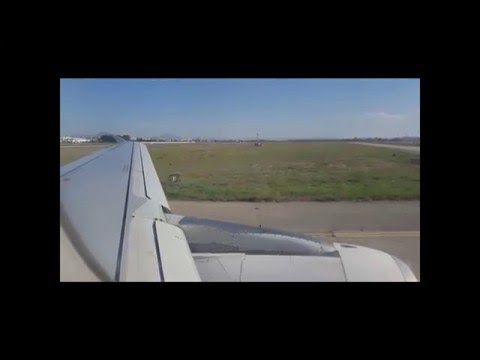 TUNISAIR AIRBUS A320 FULL FLIGHT Beirut - Tunis Carthage
