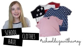 School Clothing Haul! | Avrey Elle Thumbnail