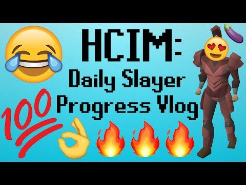 [OSRS] HCIM 74: DAILY SLAYER PROGRESS VLOG!!!1 (1736/2277)