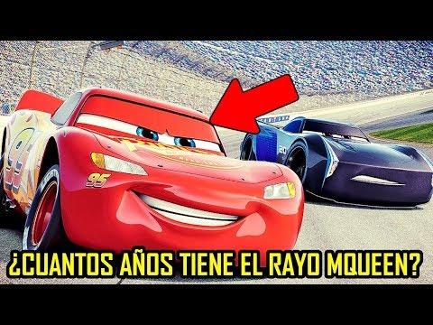 Misterio: ¿Cuantos Años Tiene El Rayo Mcqueen En Cars 3?