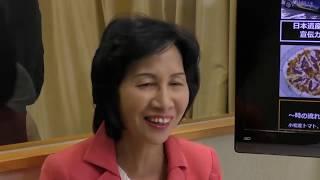 松島みどり広報本部長によるカフェスタ番組「みどりの部屋」 松島本部長...