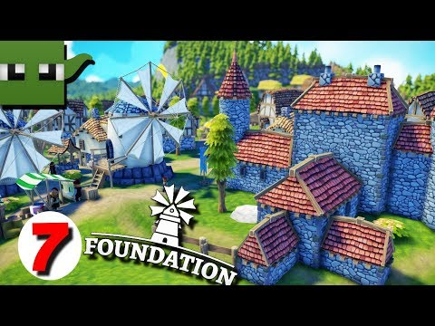 Foundation - Medieval City Building Game #7  LORD MANOR UPGRADE
