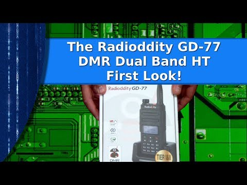 Ham Radio - A first look at the Radioddity GD-77 Dual Band DMR HT