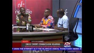 Emile Short Commission Hearing - Newsfile on JoyNews (16-2-19)