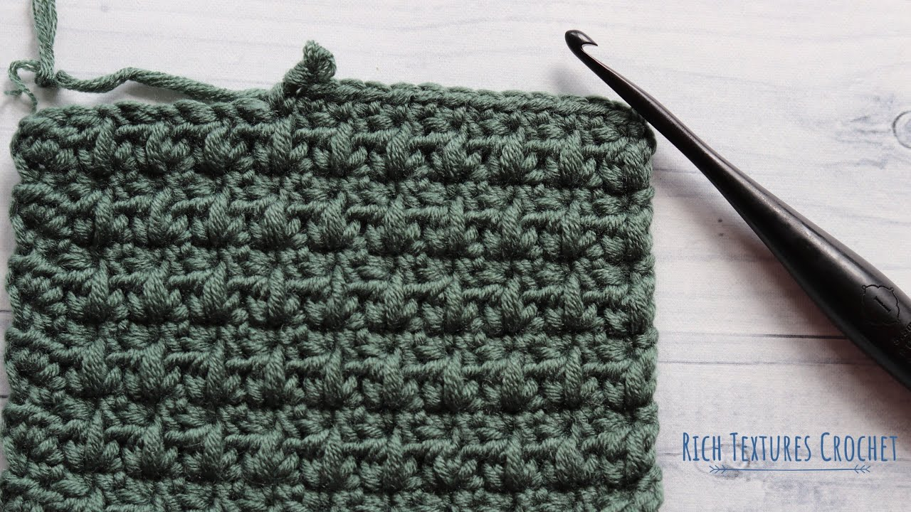 Mixed Cluster Stitch | How to Crochet