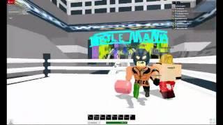 WWE Monday Night raw (Roblox)