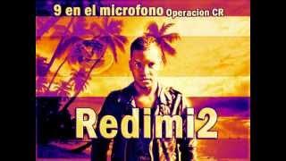 Redimi2 21 en el microfono Operaciones PR RD CR Mix