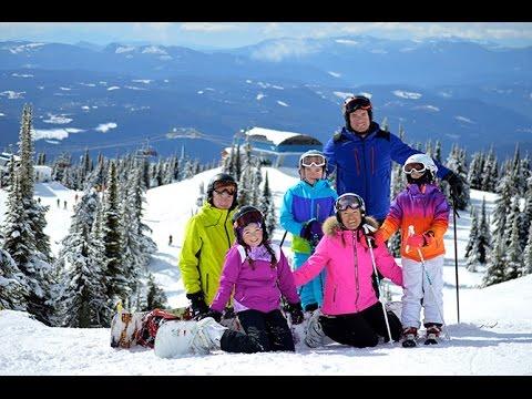 Spring Break Ski Holidays at Big White Ski Resort, just outside of Kelowna, British Columbia, Canada