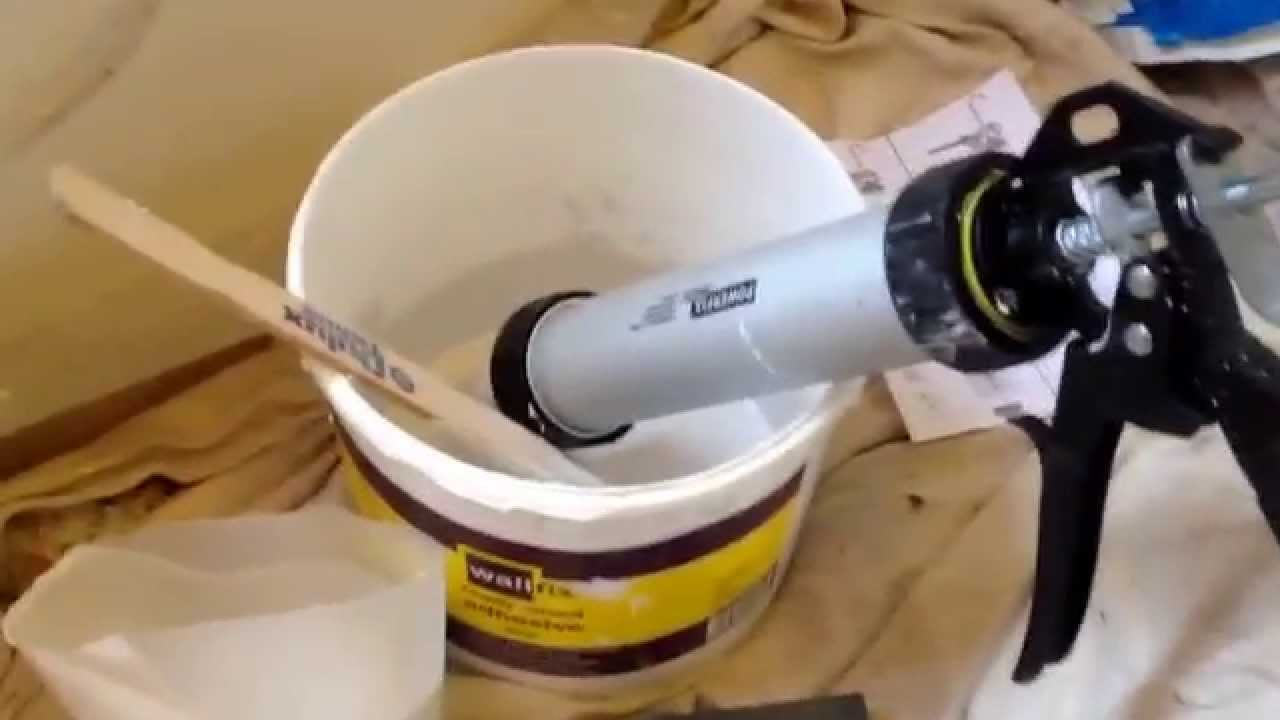 First Time Tile Grouting With Caulking Gun Part 3 Youtube