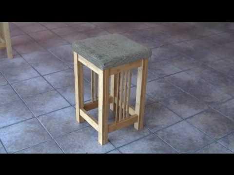 Bamboo Bar Stool