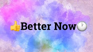 Better Now-Kidz Bop 39 (Cover by Andi)