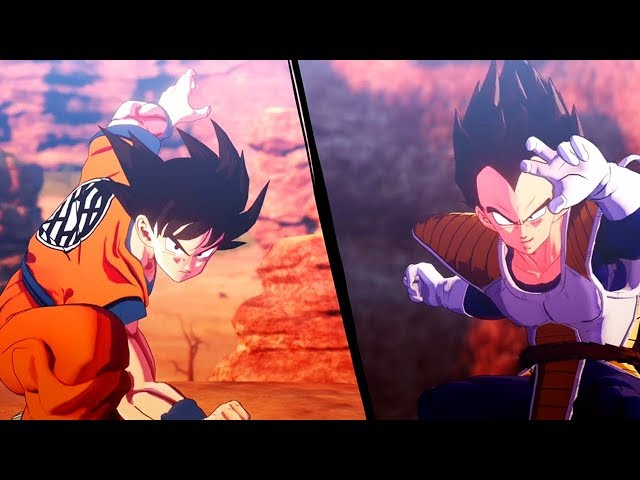 Dragon Ball Z: Kakarot Full Saiyan Saga All Cutscenes (Game Movie) DBZ Kakarot 2020