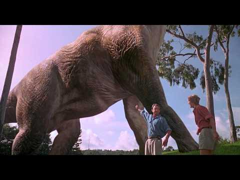 Parque Jurásico - Bienvenidos a Jurassic Park (Escena Castellano/Español HD)