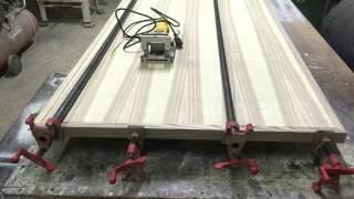 Столешницы своими руками из фанеры покрытой шпоном ясеня Продолжение.How to make a tabletop?