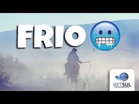 15/07/2021 - Forte massa de ar polar derrubará temperatura no Brasil | METSUL