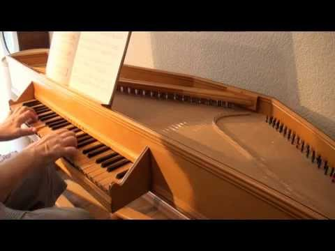 J.- S. BACH: Applicatio BWV 994 - Menuet BWV 841. Italian Virginal