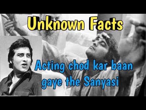 Interesting facts you don't know about Vinod khanna