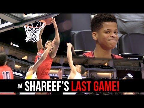 Shareef O'Neal FINAL HIGH SCHOOL GAME! State Championship ON THE LINE! Crossroads VS Alameda RECAP